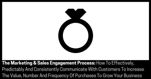 The Marketing & Sales Engagement Process How To Effectively Predictably And Consistently Communicate With Customers To Increase The Value Number And Frequency Of Purchases To Grow Your Business